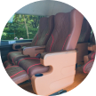 cctv, captain seat, luxury armest, air minum, seat bealt, aman